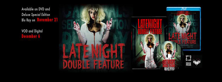 "FEATURE: ""Late Night Double Feature"" now on BluRay/DVD"