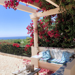 Terrace with amazing views
