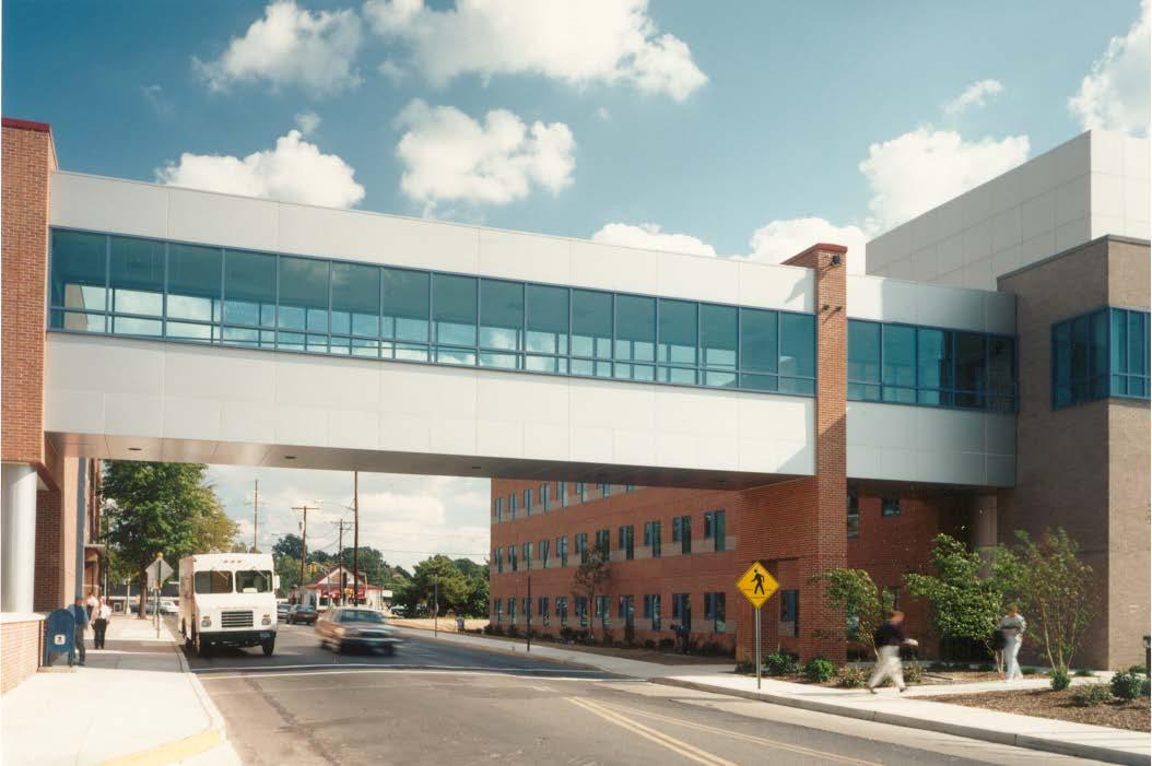 Underwood Memorial Hospital - Bridge