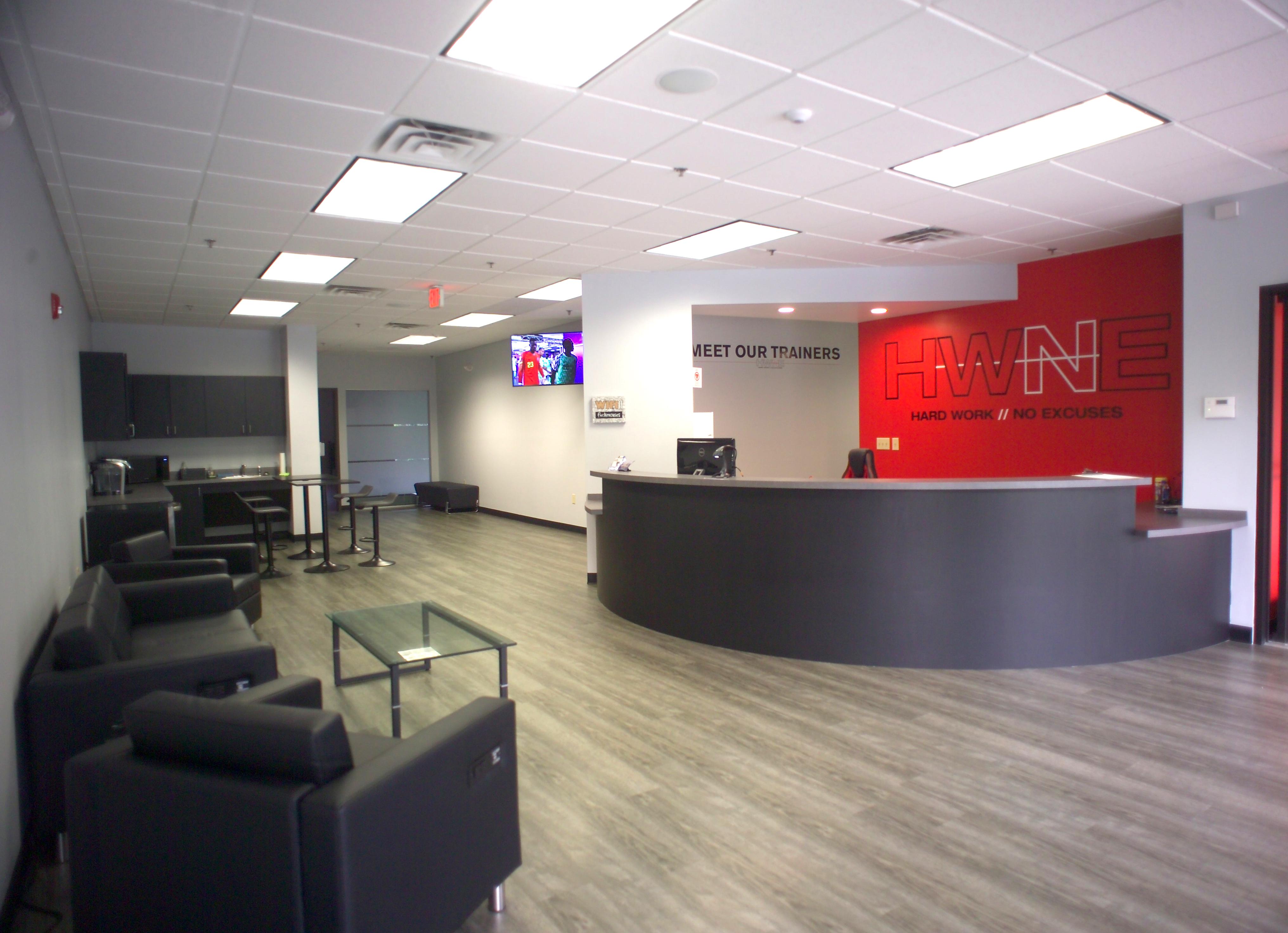 HWNE Reception Area