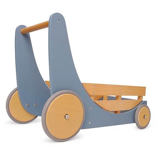 """Medinis """"Kinderfeets®"""" vežimėlis – stumdukas"""