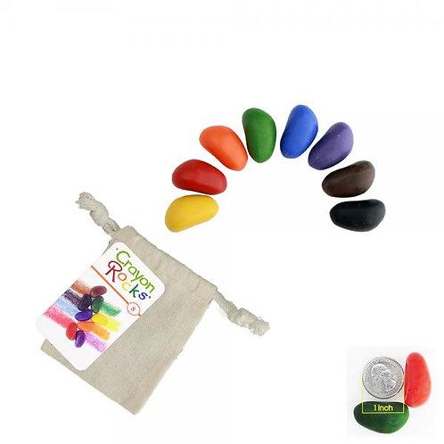 "Kreidelės ""Crayon Rocks"" medvilniniame maišelyje , 8 spalvos"