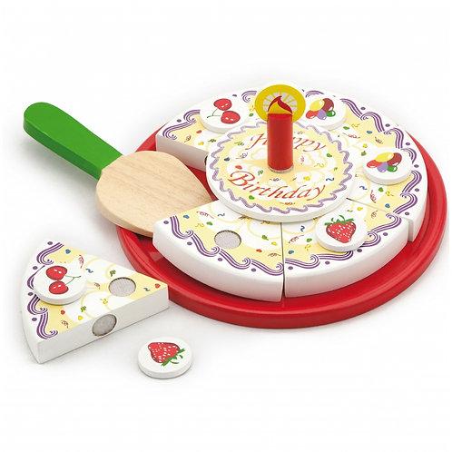 Medinis žaislinis tortas