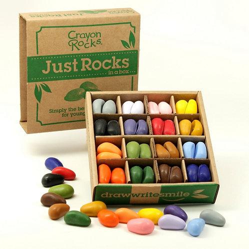 """Kreidelės """"Crayon Rocks"""" dėžutėje 64 vnt, 16 spalvų."""