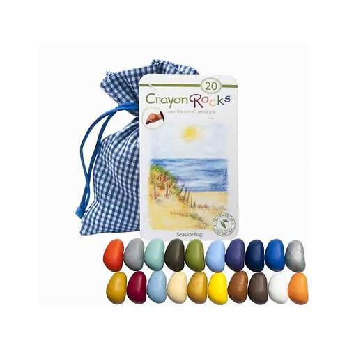 """Kreidelės """"Crayon Rocks"""" Seaside, 20 spalvų."""