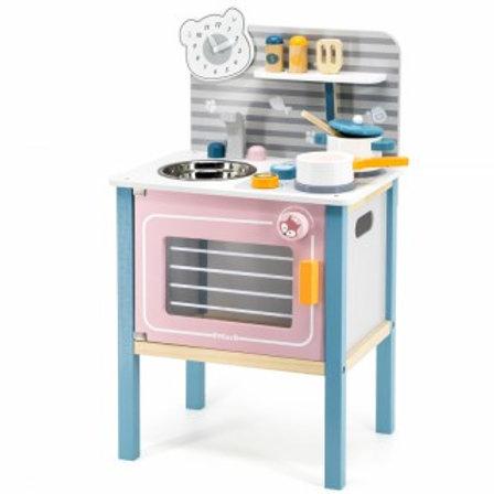 Medinė virtuvėlė Viga PolarB