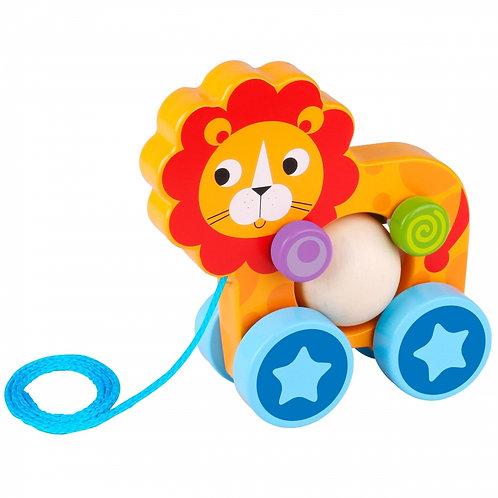 Medinis traukiamas Liūtas