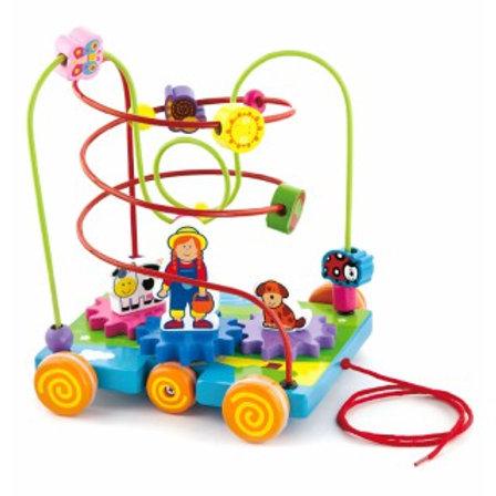 Medinis labirintas - mašinėlė