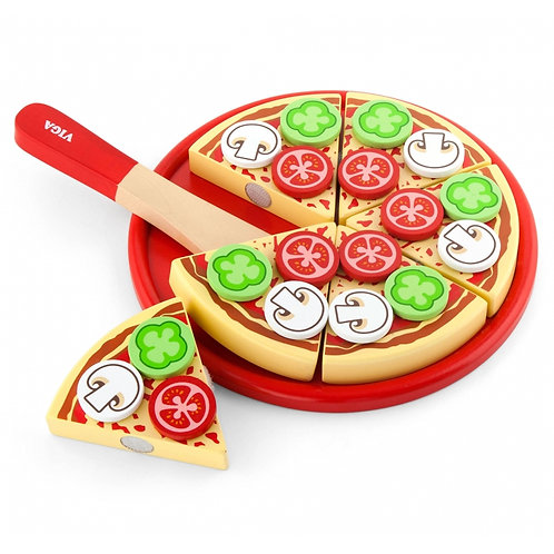 Medinė pjaustoma pica