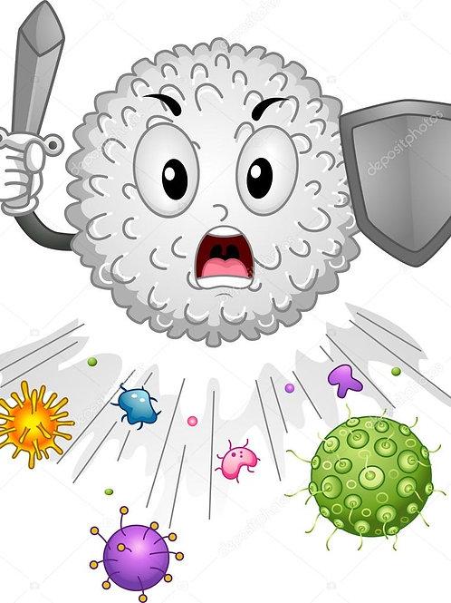 Immunitaire : Vitamines C et D