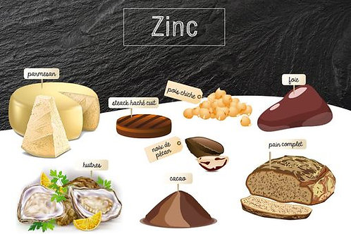 ZINC + B6/4x60 gélules dosées à 260mg