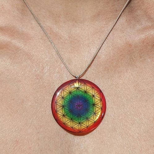 Médaillon quantique    diamètre-5cm
