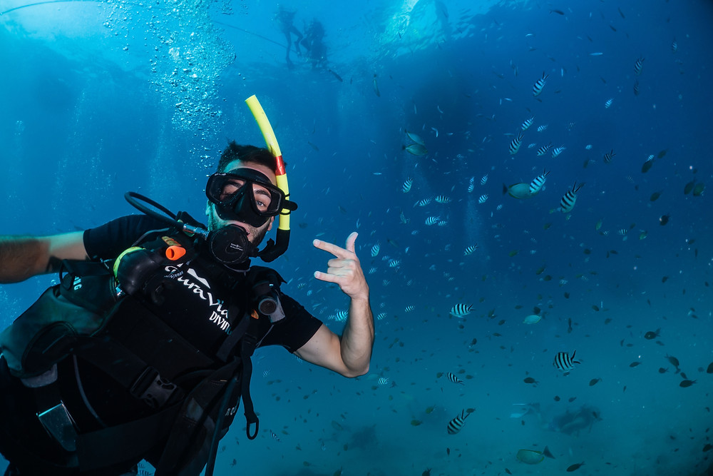 Divemaster course at Koh Tao