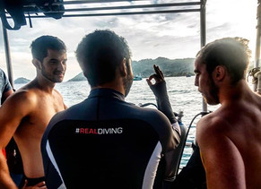 Different ways to work as a Scuba Diving Instructor.