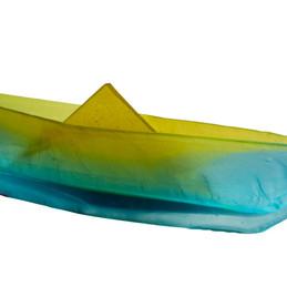 Material: Glass  Dimensions: 26 cm x 7 cm x 15 cm