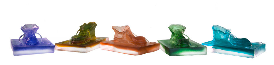 Material: Glass and Wooden Base