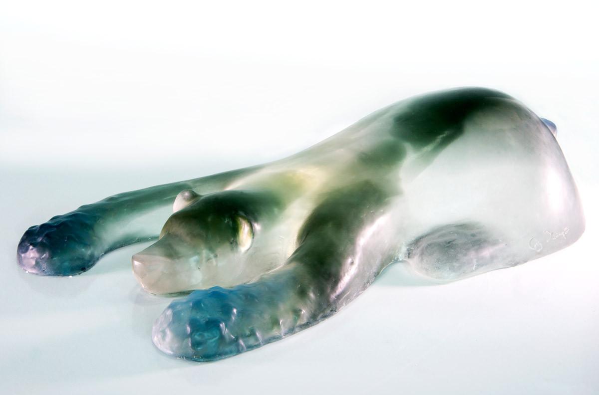 Material: Glass Dimensions: 60 cm x 32 cm x 19 cm