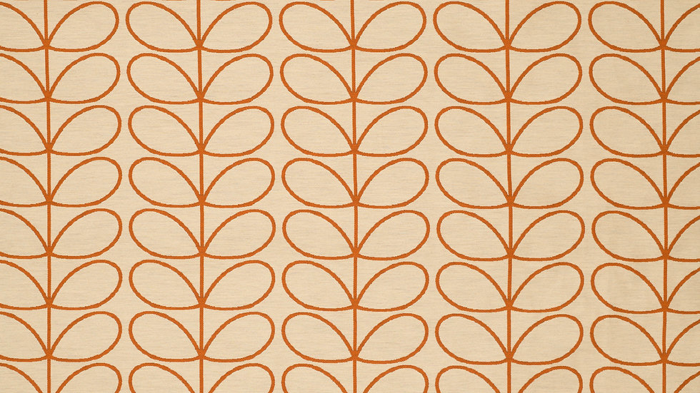 Woven Linear Stem  - Orange