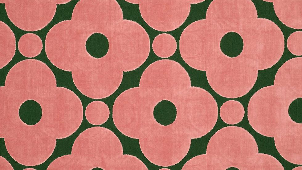 Velvet Spot Flower  - Jade