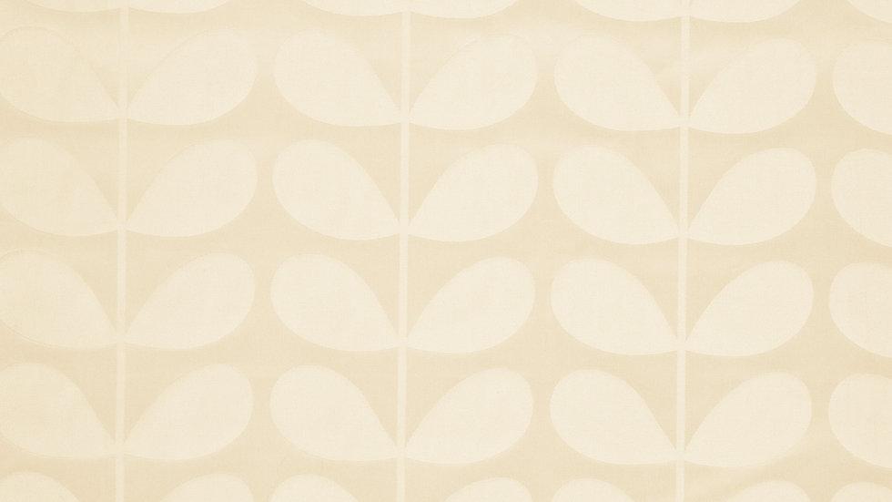 Jacquard Stem  - Cream