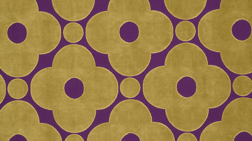 Velvet Spot Flower  - Purple
