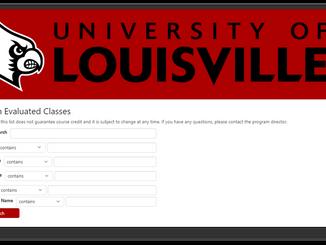 University of Louisville's Prior Learning Assessment (PLA) Database