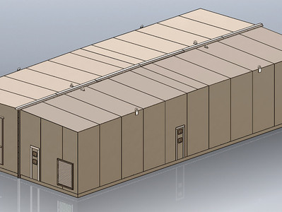 ARMAG CORPORATION – Patented Design Achieves High-Strength RF/HEMP Protection For Modular Facilities