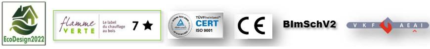 Elyps Wall certifications