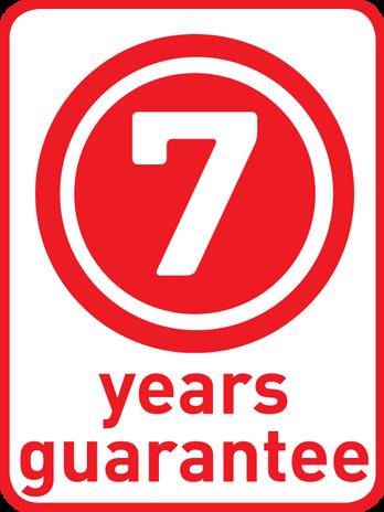 7 ans garantie
