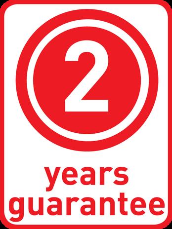 2 ans garantie*