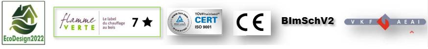 Poêle Finland Certifications