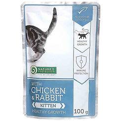 With Chicken & Rabbit Kitten Healthy Gro