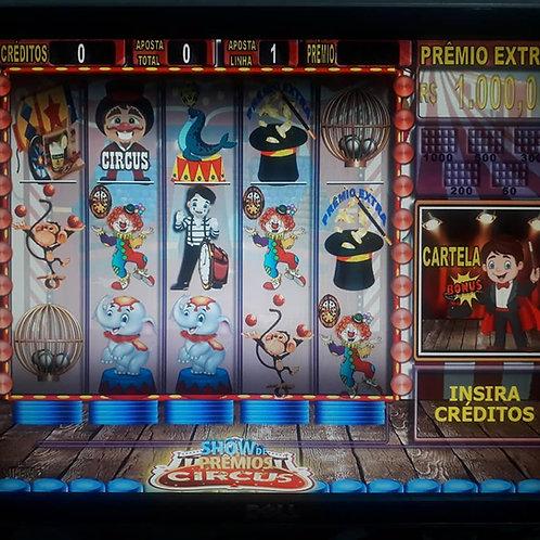 Bingo Circus leitura QRcode