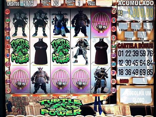 Bingo Tartarugas ninjas
