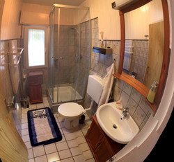 Ferienbungalow Kudick (Badezimmer)