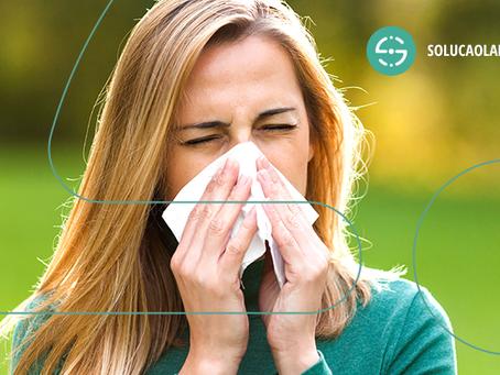 Descobrir as causas da alergia é o primeiro passo