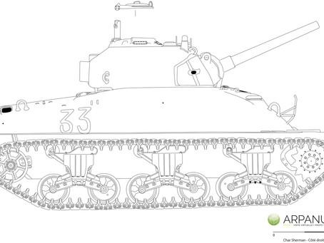 Char M4 Sherman
