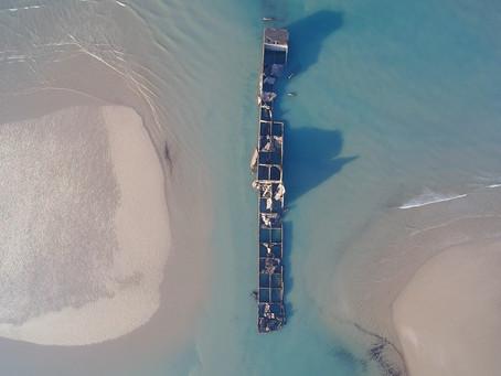 Port Mulberry - Le port artificiel d'Arromanches