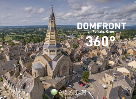 Domfront-en-Poiraie à 360°