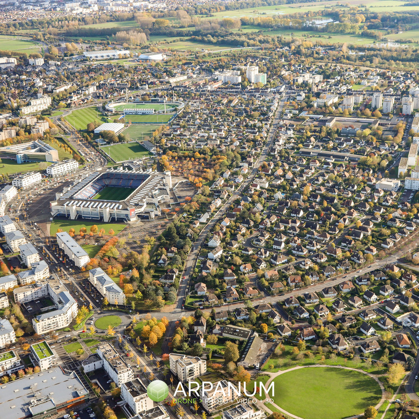 Stade d'Ornano Caen Venoix - Arpanum