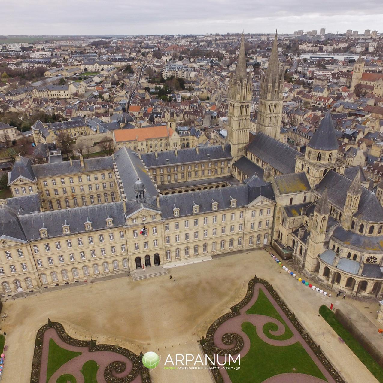 Caen par drone