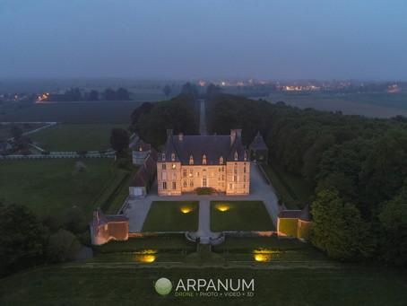 Pierres en Lumières à Aubigny