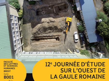 12e Journée d'étude sur l'Ouest de la Gaule Romaine