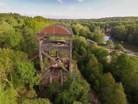 Concasseurs de l'ancienne mine, May-sur-Orne (Calvados)