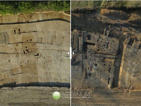Monceaux-en-Bessin, chantier archéologique