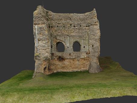 Le Donjon de Brionne en 3D