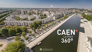 Visite virtuelle 360° par drone Calvados, Normandie
