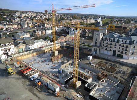 Chantier de construction, Deauville