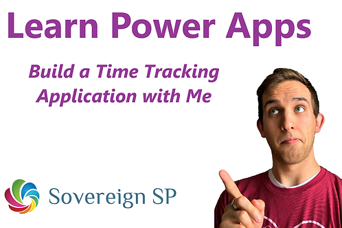 Build a Time Tracking Power App - Full Step-by-Step Instruction