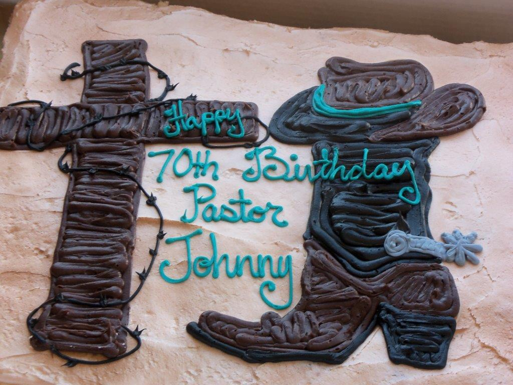 Pastor Johnny 70th Birthday